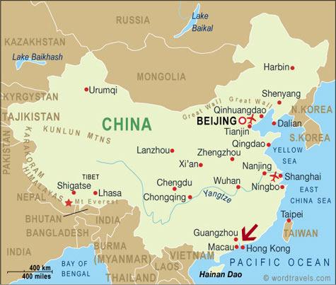Macau On World Map.Getting Lucky In Macau World Curious Traveler